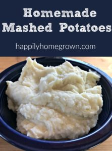 Classic Homemade Mashed Potatoes