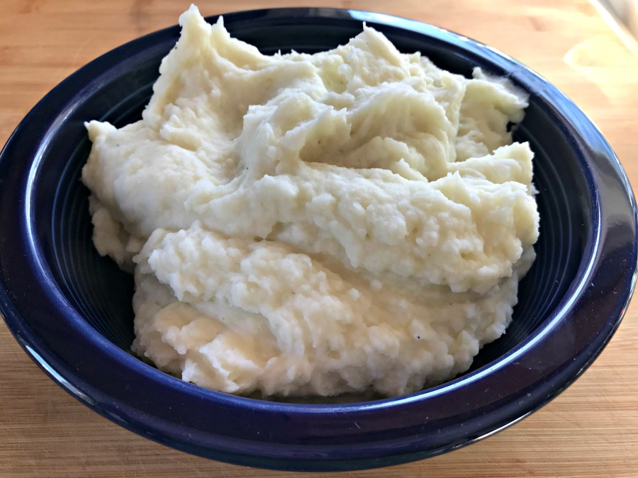 Mashed potatoes are comfort food, plain and simple. We serve them alongside elaborate holiday meals & humble weeknight dinners. Classic Homemade Mashed Potatoes has but 5 simple ingredients - potatoes, butter, milk, salt, and pepper.