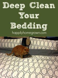 Deep Clean Your Bedding