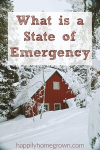 What Is a State of Emergency?