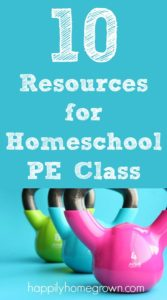 10 Resources for Homeschool PE Class