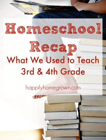 Due to the stress that cyber school had caused, we took a more informal approach to the remainder of the academic year. Here's our homeschool recap with what we used to teach 3rd & 4th grade.