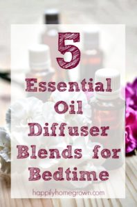 5 Essential Oil Diffuser Blends for Bedtime