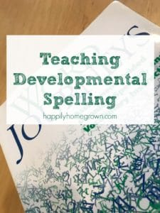 Teaching Developmental Spelling