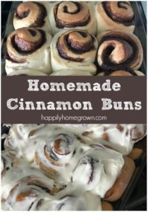 Homemade Cinnamon Buns