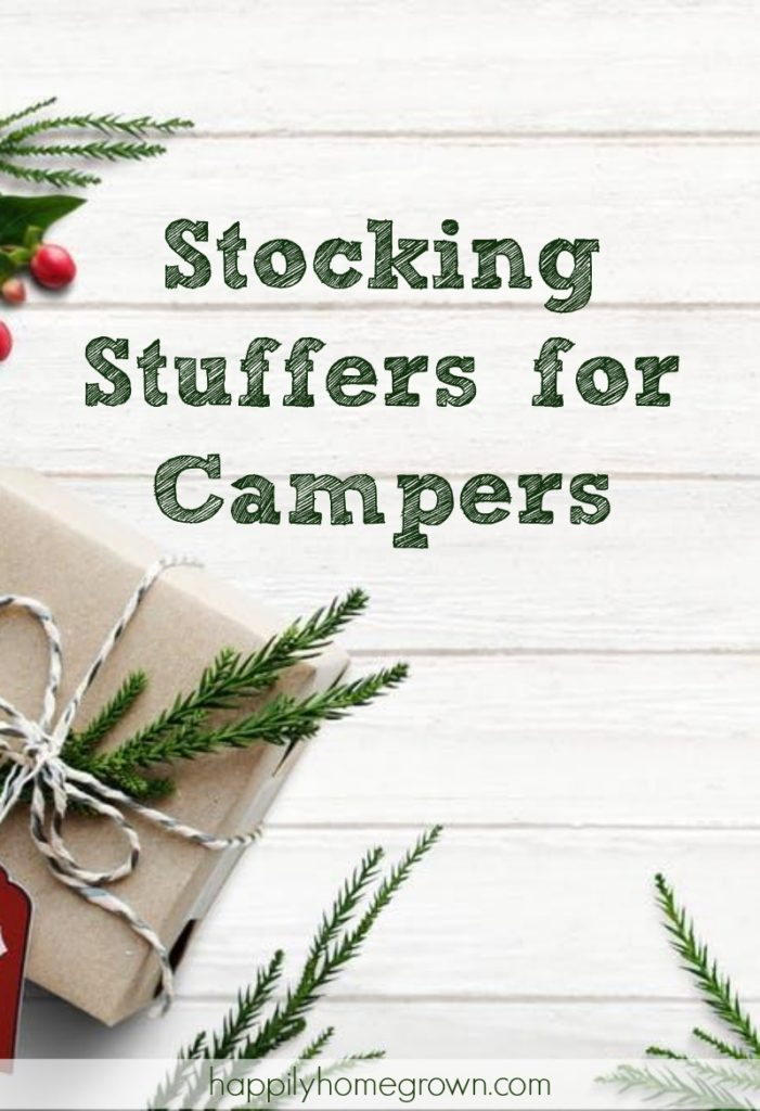 Whether you're shopping for an RV enthusiast, a backpacker, a hunter, or even for your favorite scout, camping gear is always an awesome and practical gift.