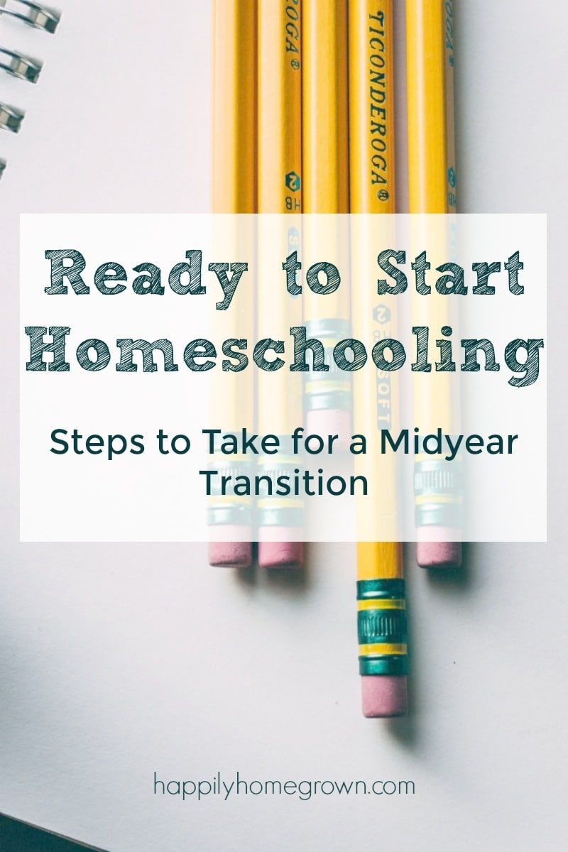 I didn't know we could withdraw midyear and start homeschooling right away.  I didn't have a homeschooling mentor to tell me it would be alright.  So for those wondering what to do because here you are part way through the school year and ready to pull your children, no matter what the reason, I'm here to tell you to do it!  I'll be that mentor for you that I didn't have.