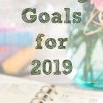 Setting goals for the new year is always a wonderful way to reflect after the holidays and set yourself up for success in the new year.