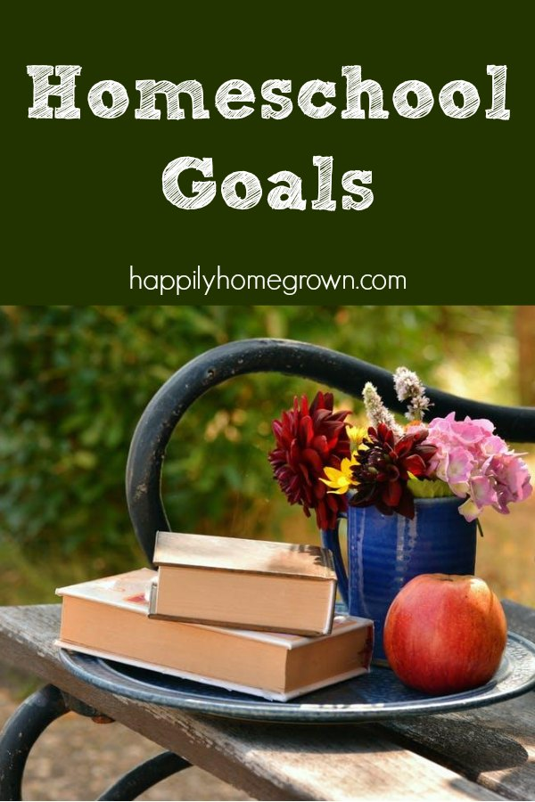 I love homeschooling, but there are several things I know I can do better, and it has become my goal to improve our homeschool experience.