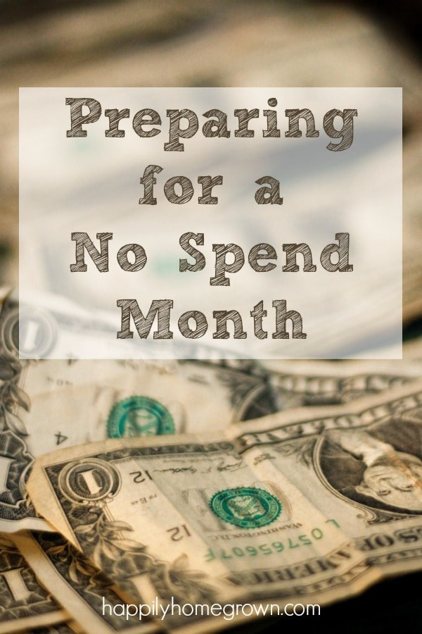 February is a short month so it's the perfect time for a no-spend month. Reign in your spending, cut out the unnecessary, & know where your money is going.
