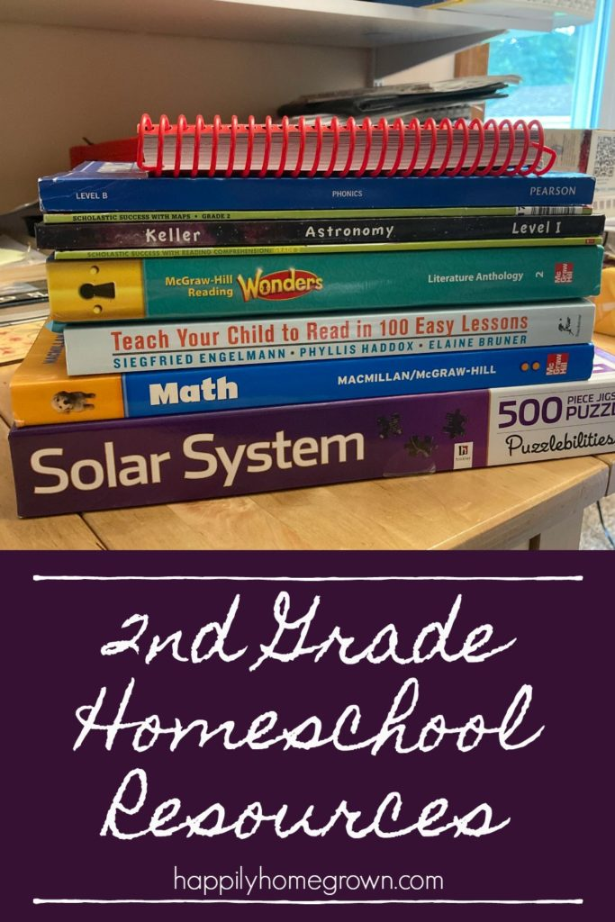 2nd grade is an exciting time in our homeschool!  Reading, Math, Science and more all getting planned out for the coming year.